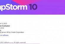 PHPStorm10 下载安装破解汉化-雅荷心语博客