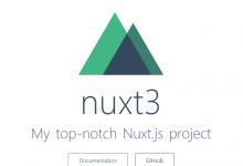 nuxt.js 初体验及服务端部署全部流程-雅荷心语博客